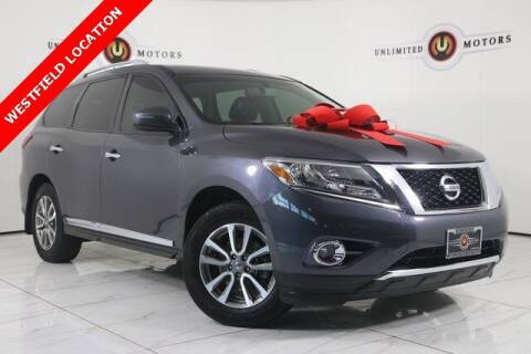 2013 Nissan Pathfinder for sale at INDY'S UNLIMITED MOTORS - UNLIMITED MOTORS in Westfield IN