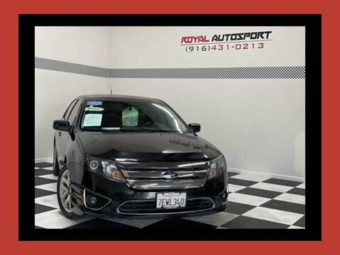 2012 Ford Fusion for sale at Royal AutoSport in Sacramento CA