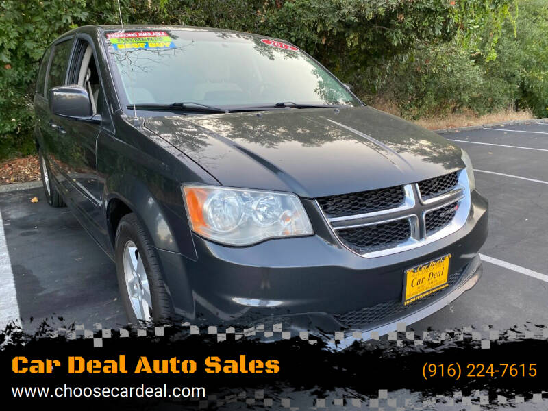 2012 Dodge Grand Caravan for sale at Car Deal Auto Sales in Sacramento CA