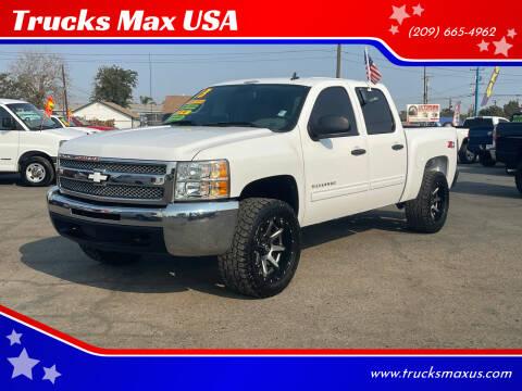 2013 Chevrolet Silverado 1500 for sale at Trucks Max USA in Manteca CA