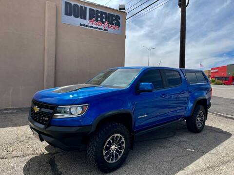 2018 Chevrolet Colorado for sale at Don Reeves Auto Center in Farmington NM