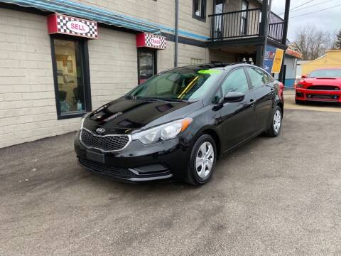 2016 Kia Forte for sale at Sisson Pre-Owned in Uniontown PA