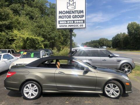 2011 Mercedes-Benz E-Class for sale at Momentum Motor Group in Lancaster SC