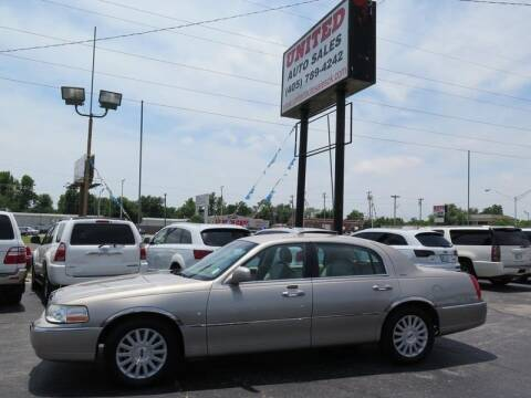 2003 Lincoln Town Car for sale at United Auto Sales in Oklahoma City OK