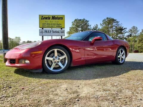 2008 Chevrolet Corvette for sale at Lewis Motors LLC in Deridder LA