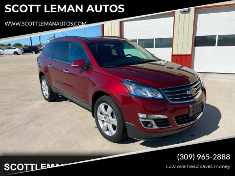 2017 Chevrolet Traverse for sale at SCOTT LEMAN AUTOS in Goodfield IL