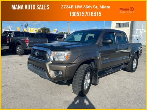 2014 Toyota Tacoma for sale at MANA AUTO SALES in Miami FL