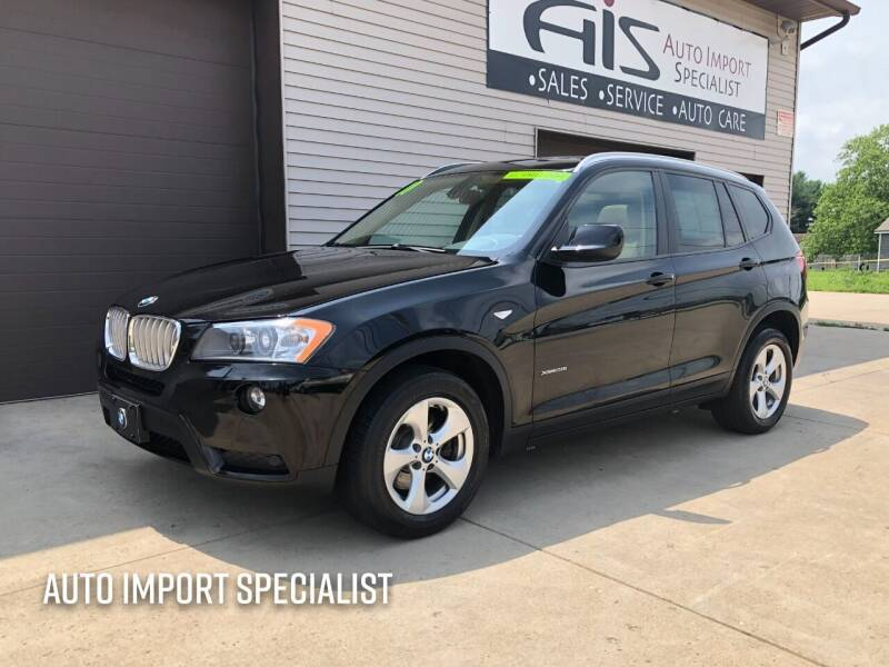 2011 BMW X3 for sale at Auto Import Specialist LLC in South Bend IN