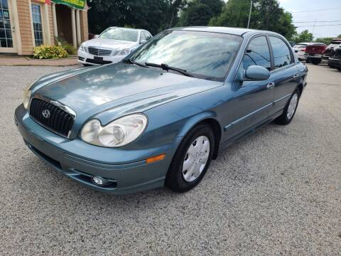 2004 Hyundai Sonata for sale at Car and Truck Exchange, Inc. in Rowley MA