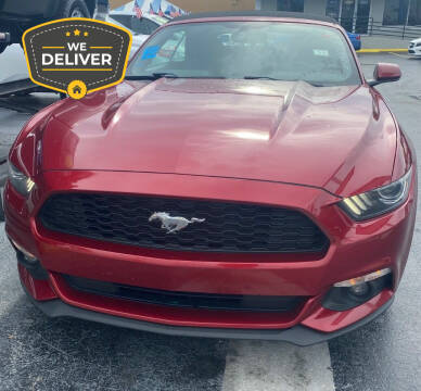 2016 Ford Mustang for sale at Navarro Auto Motors in Hialeah FL