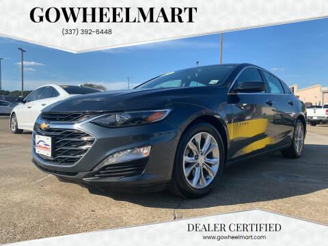 2019 Chevrolet Malibu for sale at GOWHEELMART in Leesville LA