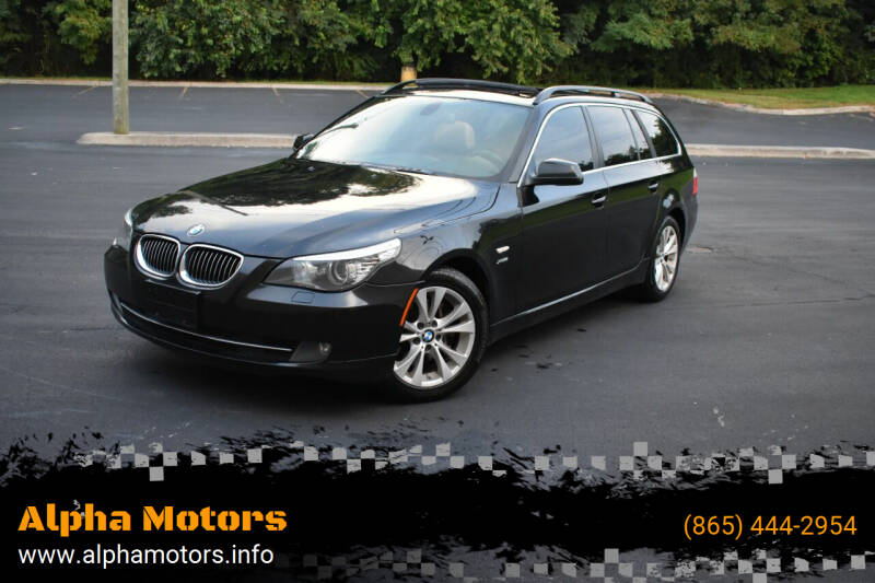 2010 BMW 5 Series for sale at Alpha Motors in Knoxville TN