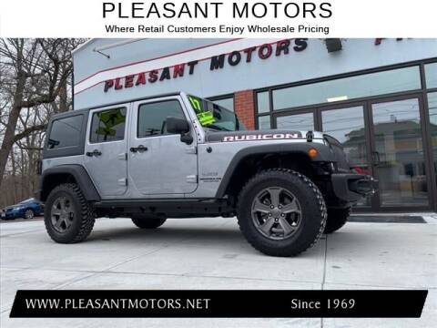 2017 Jeep Wrangler Unlimited for sale at Pleasant Motors in New Bedford MA