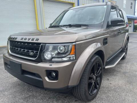 2016 Land Rover LR4 for sale at RoMicco Cars and Trucks in Tampa FL