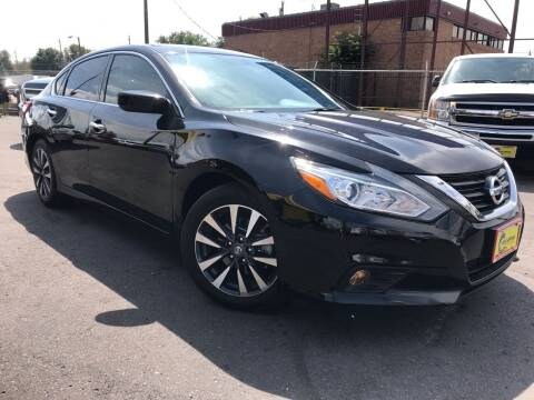 2017 Nissan Altima for sale at New Wave Auto Brokers & Sales in Denver CO