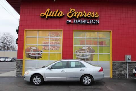 2007 Honda Accord for sale at AUTO EXPRESS OF HAMILTON LLC in Hamilton OH