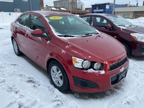 2015 Chevrolet Sonic for sale at Midtown Autoworld LLC in Herkimer NY