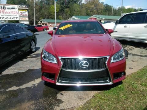 2015 Lexus LS 460 for sale at AUTOPLEX 528 LLC in Huntsville AL