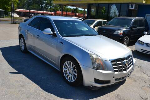 2012 Cadillac CTS for sale at Preferable Auto LLC in Houston TX