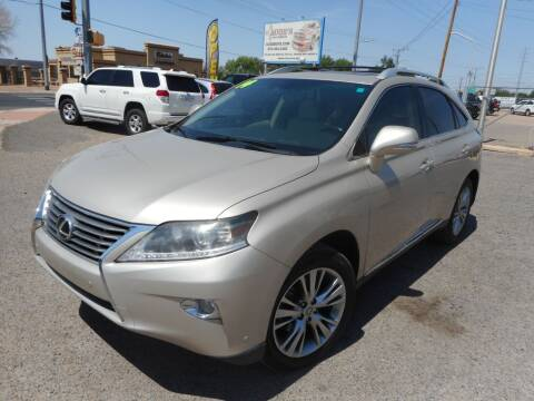 2014 Lexus RX 350 for sale at AUGE'S SALES AND SERVICE in Belen NM