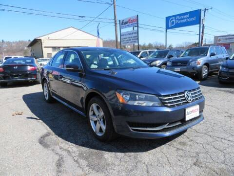 2013 Volkswagen Passat for sale at Auto Match in Waterbury CT