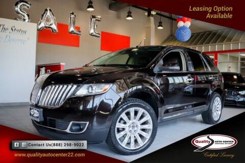 2013 Lincoln MKX for sale at Quality Auto Center of Springfield in Springfield NJ