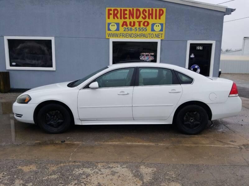 2011 Chevrolet Impala for sale at Friendship Auto Sales in Broken Arrow OK