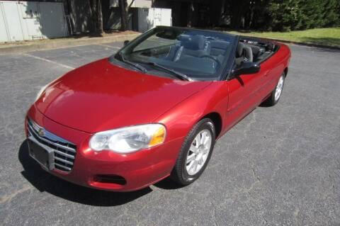2005 Chrysler Sebring for sale at Key Auto Center in Marietta GA