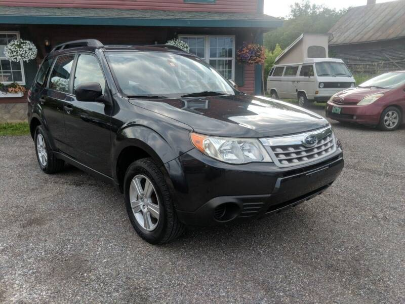 2012 Subaru Forester for sale at Village Car Company in Hinesburg VT