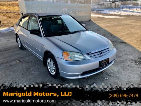 2003 Honda Civic for sale at Marigold Motors, LLC in Pekin IL