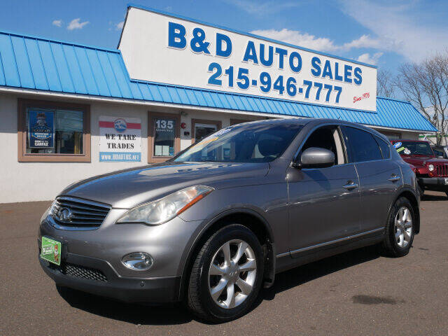 2008 Infiniti EX35 for sale at B & D Auto Sales Inc. in Fairless Hills PA