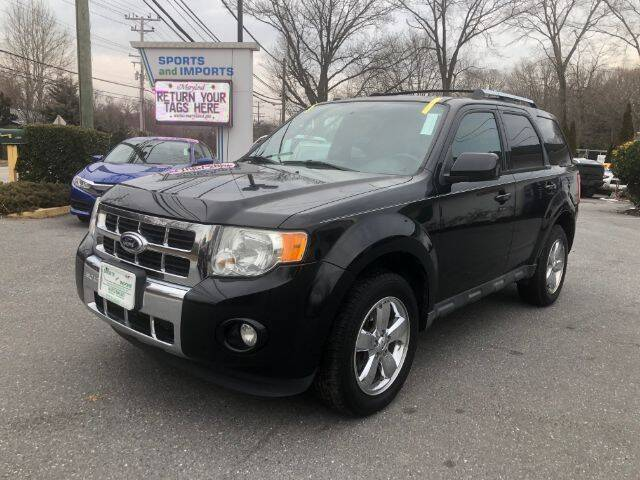 2012 Ford Escape for sale at Sports & Imports in Pasadena MD
