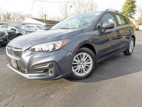 2017 Subaru Impreza for sale at GAHANNA AUTO SALES in Gahanna OH