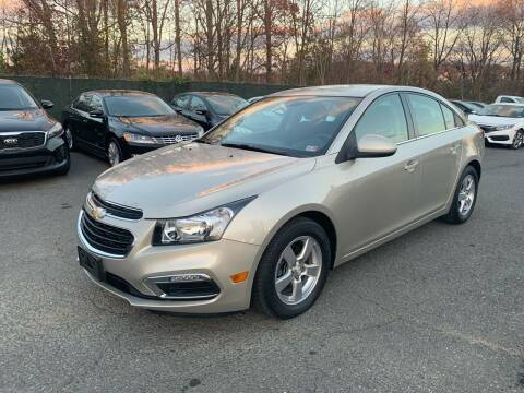 2015 Chevrolet Cruze for sale at Dream Auto Group in Dumfries VA