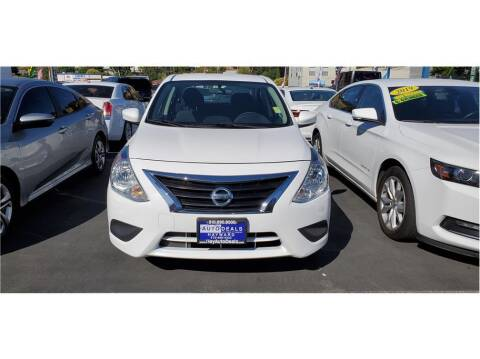 2018 Nissan Versa for sale at AutoDeals in Hayward CA