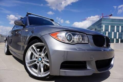 2011 BMW 1 Series for sale at JD MOTORS in Austin TX