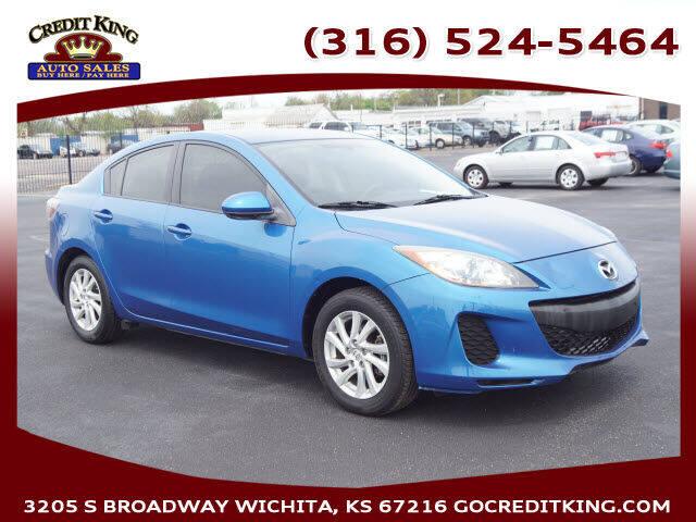 2012 Mazda MAZDA3 for sale at Credit King Auto Sales in Wichita KS