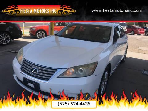 2010 Lexus ES 350 for sale at Fiesta Motors Inc in Las Cruces NM