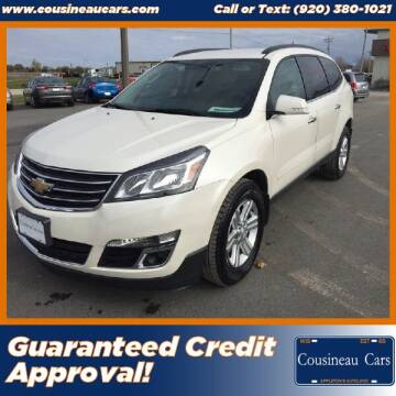 2013 Chevrolet Traverse for sale at CousineauCars.com in Appleton WI