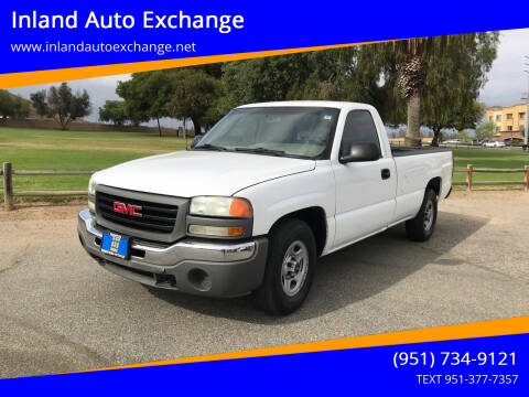 2004 GMC Sierra 1500 for sale at Inland Auto Exchange in Norco CA