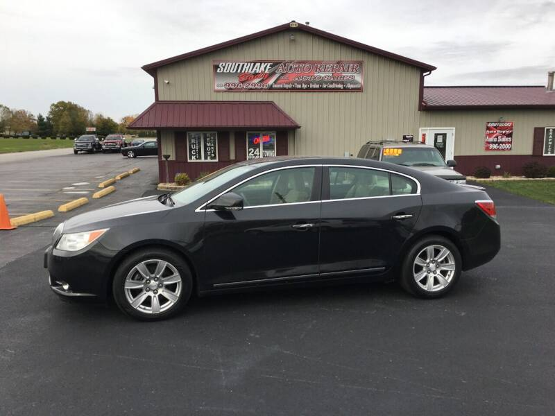 2012 Buick LaCrosse for sale at Southlake Body Auto Repair & Auto Sales in Hebron IN