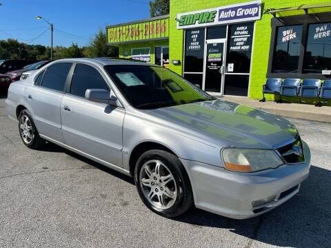 2003 Acura TL for sale at Empire Auto Group in Indianapolis IN
