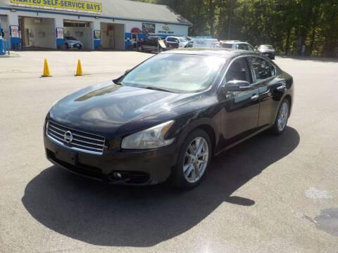 2010 Nissan Maxima for sale at RTE 123 Village Auto Sales Inc. in Attleboro MA