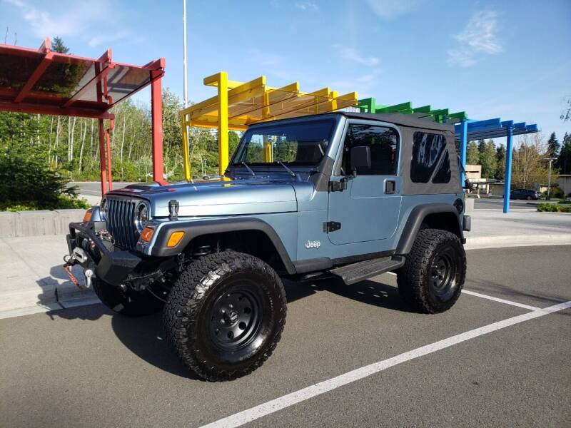 1998 Jeep Wrangler for sale at Painlessautos.com in Bellevue WA