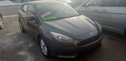 2016 Ford Focus for sale at TC Auto Repair and Sales Inc in Abington MA