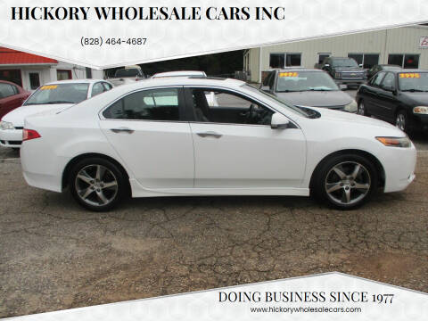 2012 Acura TSX for sale at Hickory Wholesale Cars Inc in Newton NC