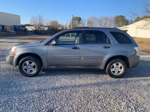 2005 Chevrolet Equinox for sale at MEEK MOTORS in North Chesterfield VA