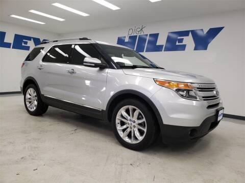2013 Ford Explorer for sale at HILEY MAZDA VOLKSWAGEN of ARLINGTON in Arlington TX