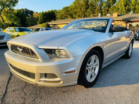 2014 Ford Mustang for sale at Classic Luxury Motors in Buford GA
