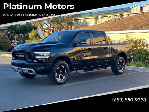 2020 RAM Ram Pickup 1500 for sale at Platinum Motors in San Bruno CA